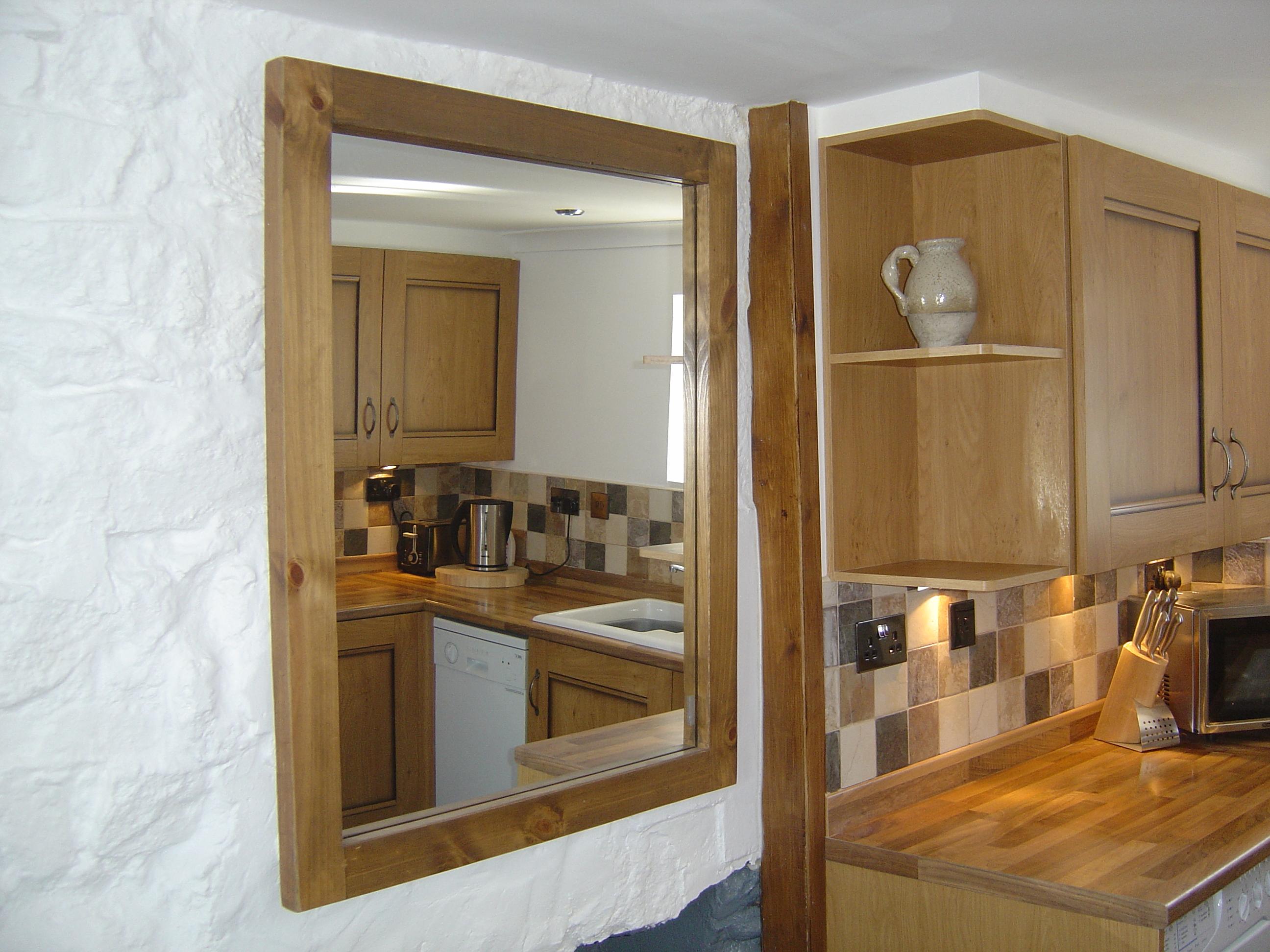 Attrayant Cottage Photos » Kitchen Wall Mirror
