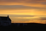 Tiree Summer Sunset over Scarinish
