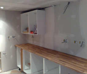 Kitchen Now Being Fitted!