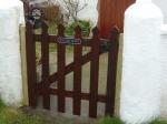 New Outside Gate