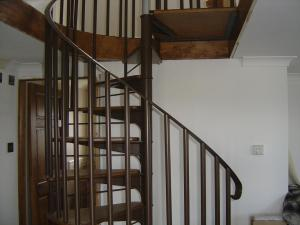 New Spiral Staircase fitted