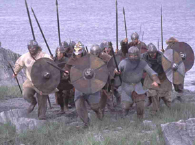 Vikings try to take Tiree