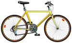 bicycle-yellow